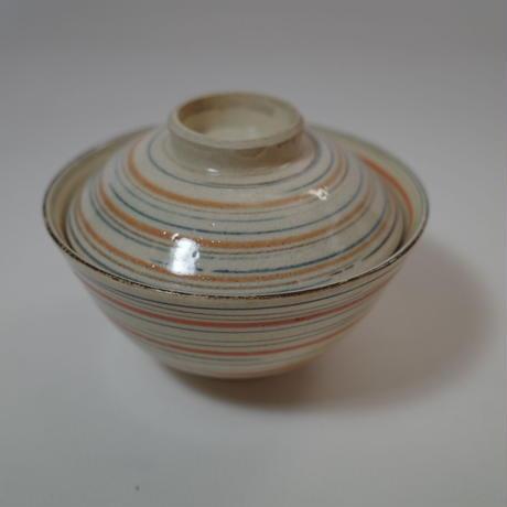 瀬戸 麦藁手輪線蓋茶碗 ③