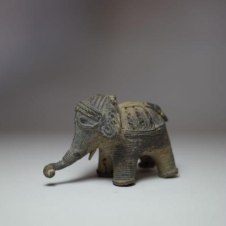 民芸品 真鍮製 象のオブジェ