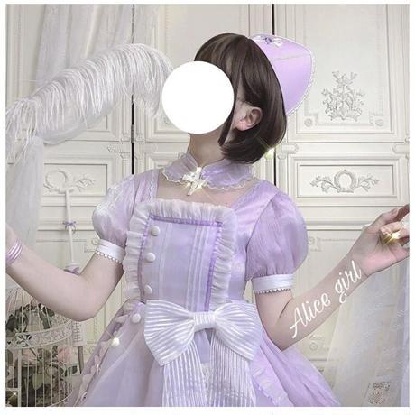 【第二期ご予約】スイートレスキューナースワンピース【4色】