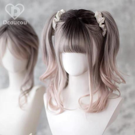 【Dcoucou】薄桜ゆるウェーブウィッグ
