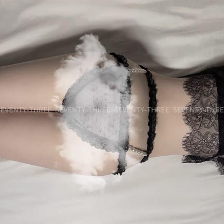 【お取り寄せ】【73】ダブルパールパンティ【3色】