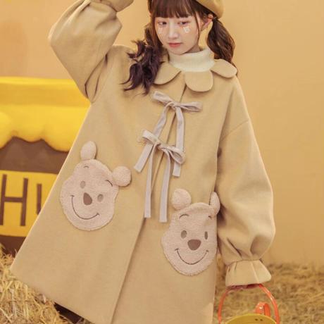 【ご予約商品】ディズニー公認☆くまのプーさんコート