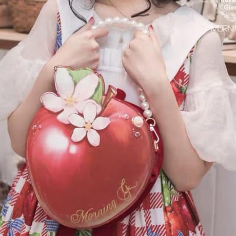 【お取り寄せ】白雪姫の林檎バッグ【中】