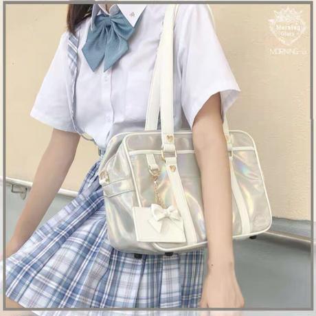 【お取り寄せ】【morning-glory】オーロラスクールバッグ