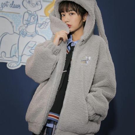 【ご予約商品】ディズニー公認☆ズートピア ジュディのふわふわジャケット