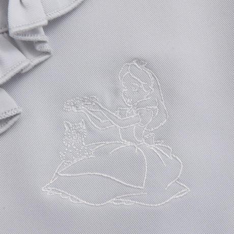 【お取り寄せ】【森女部落】ディズニー公認☆アリスブルーフリルブラウス