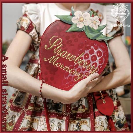 絵本苺の大きなバッグ