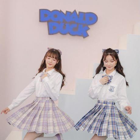 【お取り寄せ】ディズニー公認☆ドナルド&デイジースカート