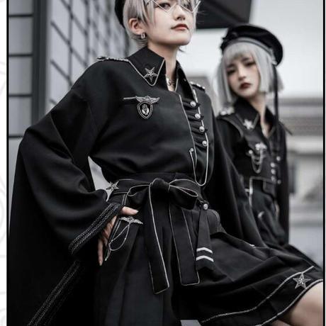 【ご予約】【素心SUSIN】和装軍服フルセット【2着set】
