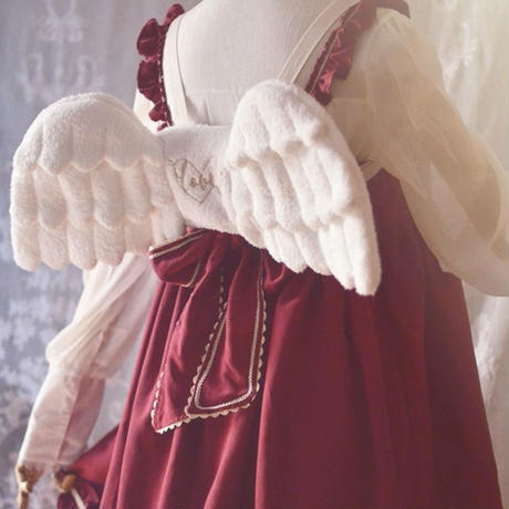 翔く天使の羽根リュック