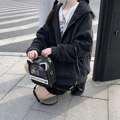 【お取り寄せ】【漫境】子猫な痛バッグ【6色】