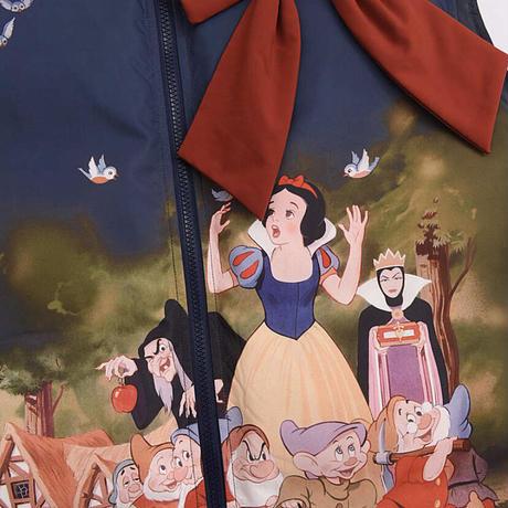 【お取り寄せ】【森女部落】ディズニー公認☆白雪姫ゆったりダウンベスト