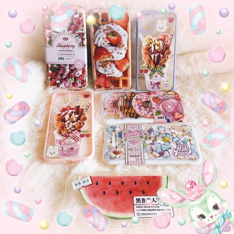 【¥3000円以上ご購入された方限定】各1点限り!yummy!iPhone x/xsケース