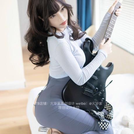【お取り寄せ】【火华家× hitomio拾六】ギターシスターセットアップ