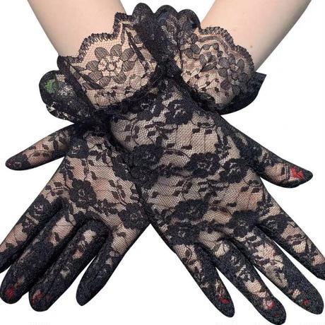 レースの手袋【3色】