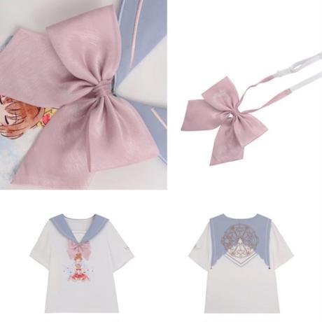 【お取り寄せ】カードキャプターさくら公認☆天使の羽根セーラー襟シャツ