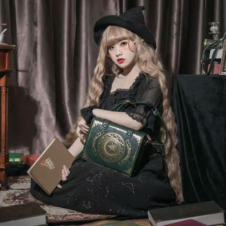 【お取り寄せ】星月魔法書バッグ【7色】