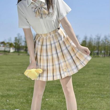 【お取り寄せ】カードキャプターさくら公認☆ケロちゃんプリーツスカート