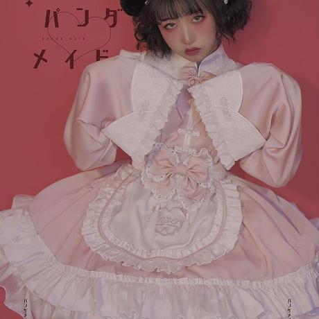 【Stasera】你好熊猫メイドパンダ耳カチューシャ/お団子カバー