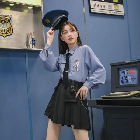 ディズニー公認☆ズートピア*ジュディ制服スカート【M】
