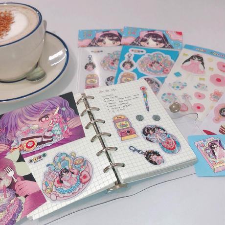 【Ring】ミニカードセット cake girls