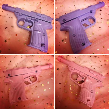 パステルカラー拳銃