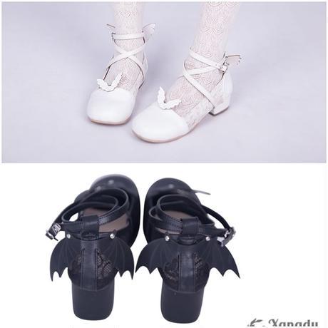 心に羽根の生える靴