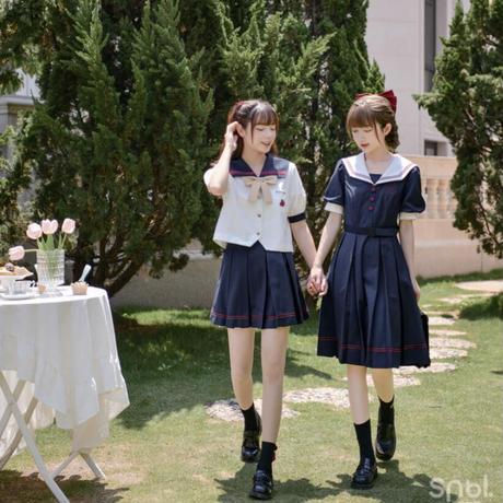 【お取り寄せ】ディズニー公認☆白雪姫制服セット