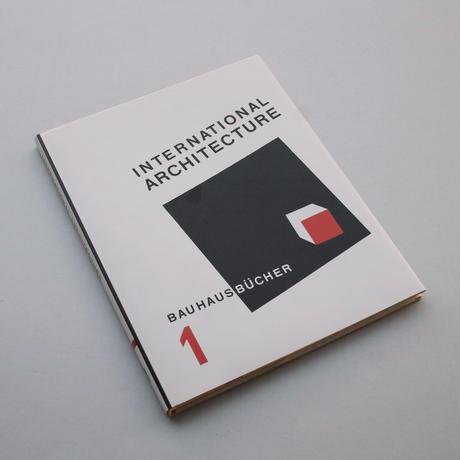 Bauhausbücher 1: International Architecture