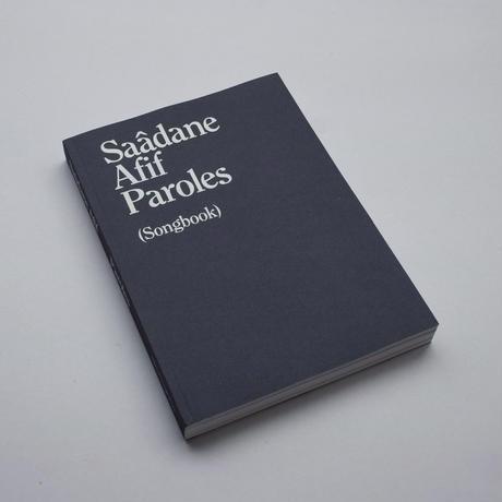 Saâdane Afif / Paroles