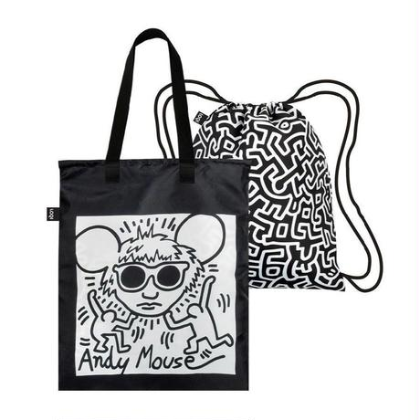 LOQI Duo Back Packs Keith Haring