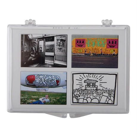Keith Haring Set of 4 Magnets (Mural)