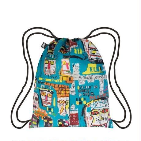 LOQI Duo Back Packs Basquiat