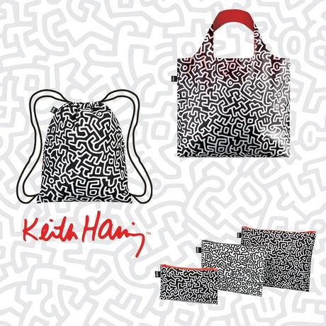 LOQI KEITH HARING Untitled Zip Pockets