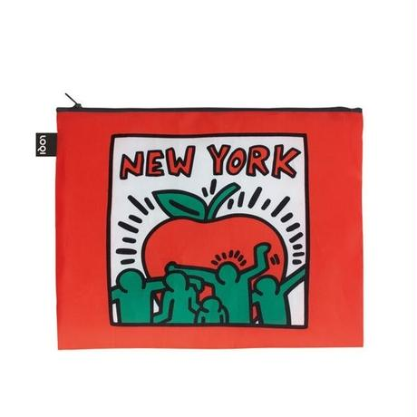 LOQI New York Zip Pockets