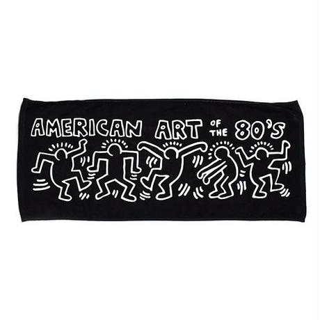 Keith Haring Face Towel