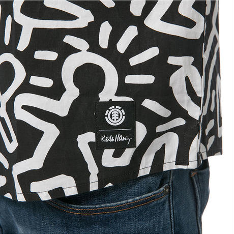 ELEMENT Keith Haring Sleeve Shirts