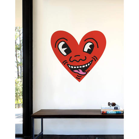 BLIK   Keith Haring Heart Face Wall Sticker