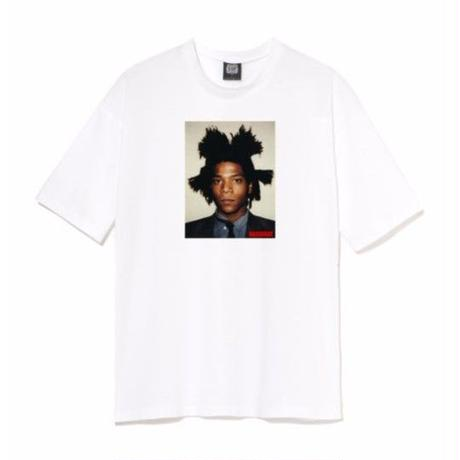 BASQUIAT - BIGGER THAN YOUR ART  Tee  White