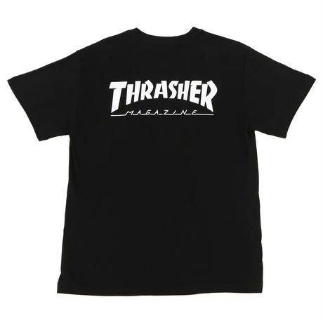 Keith Haring × THRASHER Tee Black THKH-ST20
