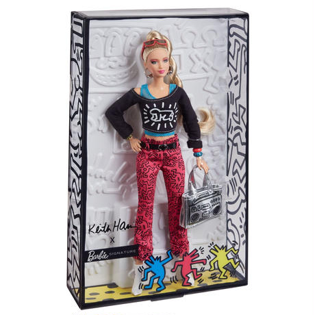 Keith Haring Barbie Doll