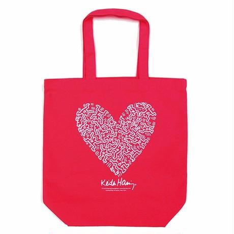Keith Haring Tote Bag 【Pink】 キース・ヘリング トートバッグ【ピンク】