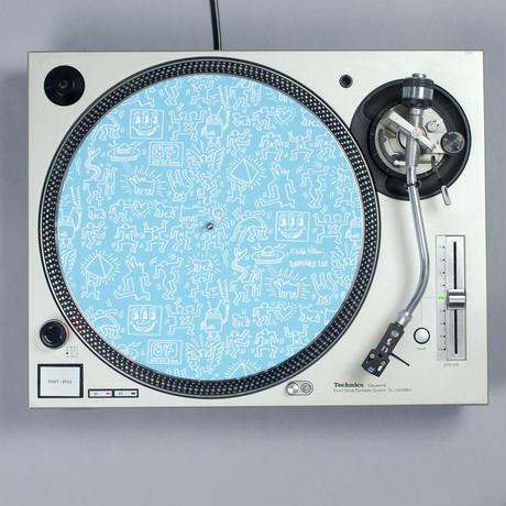 Turntable Lab Record Mat Pair 【Blue】 / レコードマット(2枚組)【ブルー】