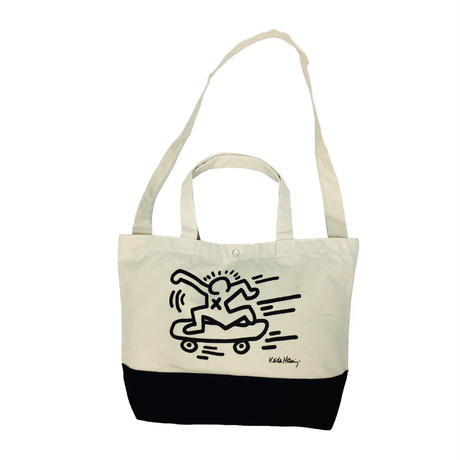 Keith Haring Tote Back  (Skater)  キース・ヘリング トートバッグ