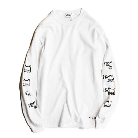 Nouno Keith Haring ART Tee Long Sleeve <Baby> KH-NN1722