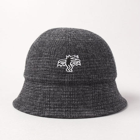CA4LA X Keith Haring CHECK HAT CKH00043 GREY