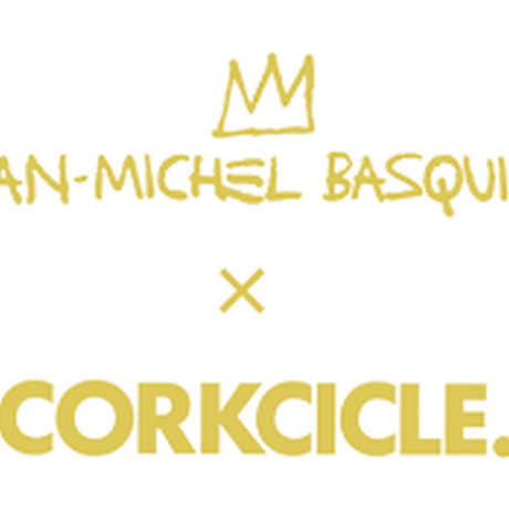 BASQUIAT x CORKCICLE CANTEEN BLUE SKULL TUMBLR