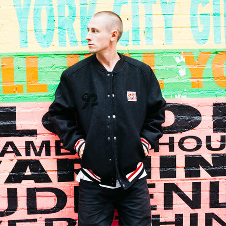 ELEMENT Keith Haring Letterman Jacket