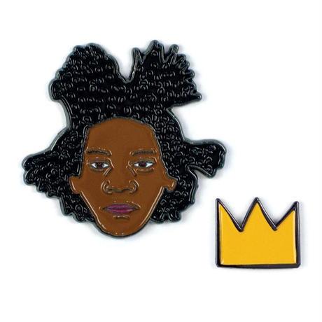 Basquiat Art Pins