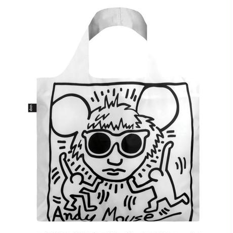LOQI Keith Haring Andy Mouse Bag